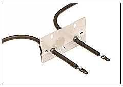 Oven element wiring terminals